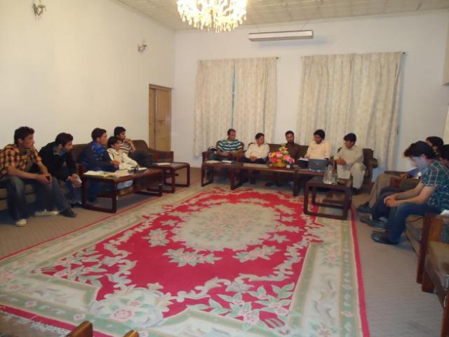 گاہکوچ میں منعقد اجلاس میں ادارے کے مستقبل اور اغراض و مقاصد کے لیے حاصل تجاویز پر بحث کی گئی