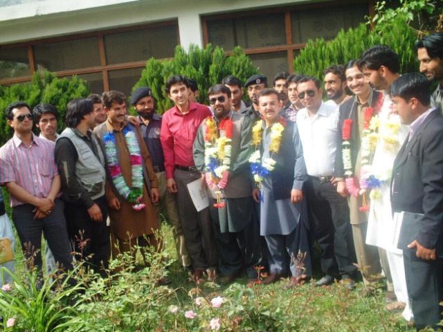 منتخب شدہ کابینہ کا الیکشن کے بعد گروپ فوٹو